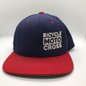 Other - Blue and Red bicycle moto cross hat